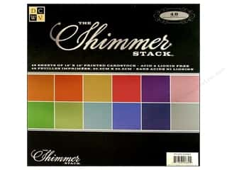 DieCuts 12 x 12 in. Paper Stack Shimmer