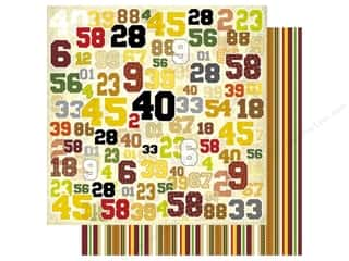Best Creation Paper 12x12 Play Ball Numbers (25 sheets)