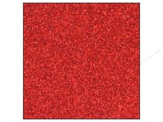 Christmas Height: Best Creation 12 x 12 in. Cardstock Glitter Red (15 sheets)