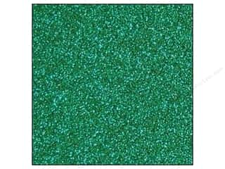 Best Creation 12 x 12 in. Cardstock Glitter Green (15 sheets)