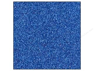 Best Creation 12 x 12 in. Cardstock Glitter Jewel Blue (15 sheets)