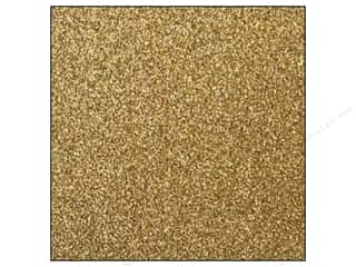 Clearance Best Creation 12 x 12 in. Paper: Best Creation 12 x 12 in. Cardstock Glitter Gold (15 sheets)