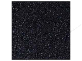 Best Creation 12 x 12 in. Cardstock Glitter Black (15 sheets)