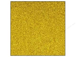 Best Creation 12 x 12 in. Cardstock Glitter Dark Gold (15 sheets)
