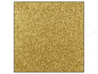 Best Creation All-American Crafts: Best Creation 12 x 12 in. Cardstock Glitter Champagne (15 sheets)