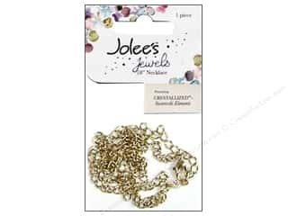 EK Jolee&#39;s Jewels Chain Curb Antique Gold