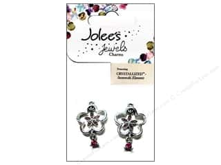EK Jolee's Jewels Charm Floating Flowers Rose