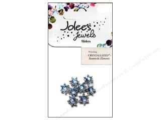 EK Jolee's Jewels Slider Sm Star Lt Sapphire 8pc