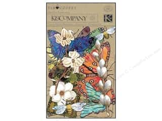 K&amp;Co Die Cut Cardstock &amp; Acetate TC Blossomwood