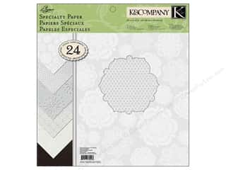 Patterns Wedding: K&Company Paper Pad 12x12 Elegance Specialty