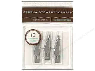 Craft Knife Clear: Martha Stewart Tools Craft Knife Refill Blade 15pc