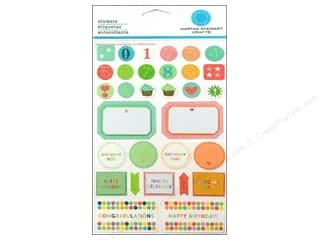 Martha Stewart Sticker Bright Birthday Celebration