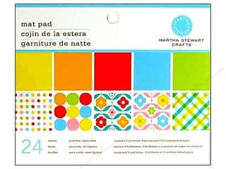Martha Stewart Mat Pad 6.5&quot;x 4.5&quot; Brights