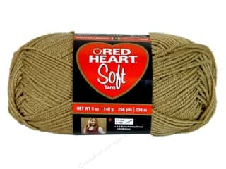 Worsted yarn: Red Heart Soft Yarn Wheat 5 oz.