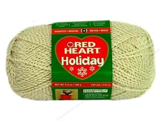 Red Heart Holiday Yarn Aran/Gold 3.5 oz.