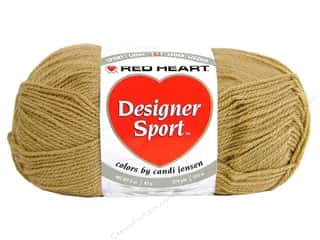sport yarn: Red Heart Designer Sport Yarn Latte 3 oz.