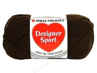 sport yarn: Red Heart Designer Sport Yarn Cocoa 3 oz.