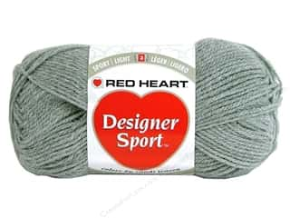 sport yarn: Red Heart Designer Sport Yarn Granite 3 oz.