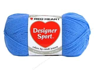 sport yarn: Red Heart Designer Sport Yarn Dutch Blue 3 oz.