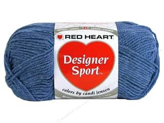 sport yarn: Red Heart Designer Sport Yarn Denim 3 oz.