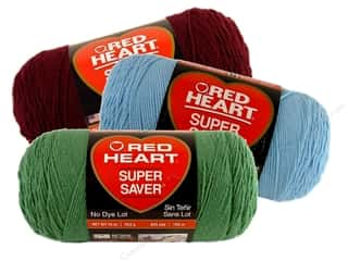 Polyester / Acrylic / Poly Blend Yarns: Red Heart Super Saver Jumbo Yarn