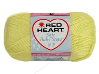 Red Heart Soft Baby Steps Yarn Baby Yellow 5 oz.