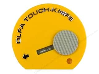 Art, School & Office Basic Components: Olfa Knife Touch Yellow
