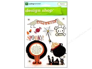 Weekly Specials Halloween Stickers: Making Memories Stkr Design Shop Seasn Halloween