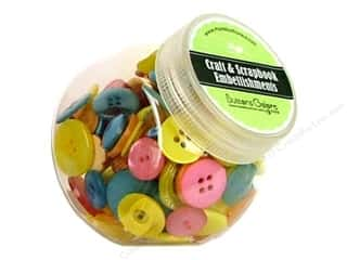 Buttons Galore Button Jar 5oz Malibu