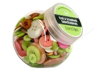 button: Buttons Galore Button Jar 5oz Plantation