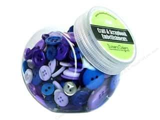 Buttons Galore Button Jar 5oz Dusk