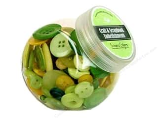 Buttons Galore Button Jar 5oz Meadow