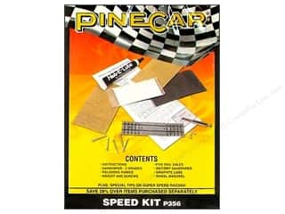 PineCar Crafts with Kids: PineCar Kits Speed