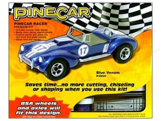 PineCar Kit Premium Blue Venom