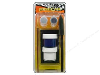 Pinecars Crafts with Kids: PineCar Paint System Cool Blue Metallic