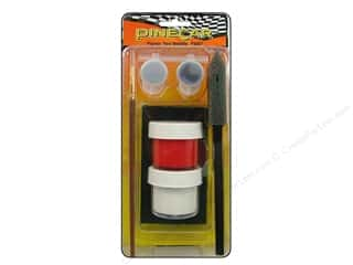 "Pinecar Kits & Accessories 5"": PineCar Paint System Flamin Red Metallic"