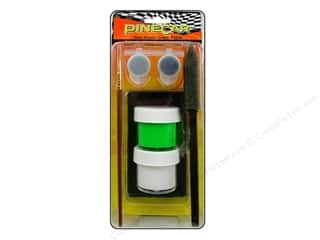 Pinecars Crafts with Kids: PineCar Paint System Gear Rippin Green