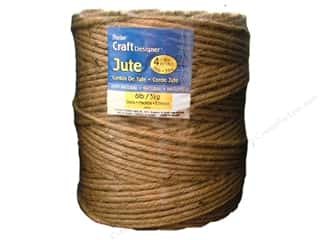 Gift Wrap & Tags: Darice Jute 4 Ply Natural 6lb/270yd