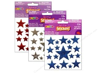Independence Day Stickers: Darice Foamies Sticker Stars Assorted