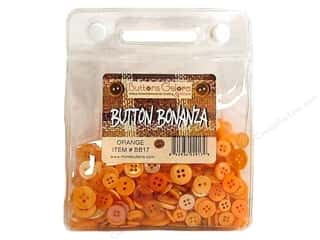 Buttons Galore Button Bonanza 1/2 lb. Orange