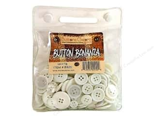 Sewing &amp; Quilting: Buttons Galore Button Bonanza 8oz White