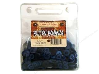Buttons Galore Button Bonanza 8oz Navy Blue