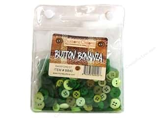 button: Buttons Galore Button Bonanza 8oz Rainforest