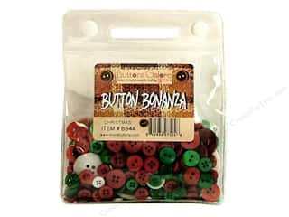 Buttons Galore Button Bonanza 8oz Christmas