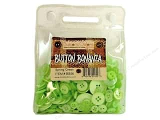 button: Buttons Galore Button Bonanza 1/2 lb. Spring Green