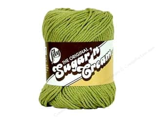 cotton yarn: Lily Sugar 'n Cream Yarn  2.5 oz. #1222 Country Green