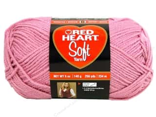 Yarn Red Heart Soft Yarn: Red Heart Soft Yarn #9770 Rose Blush 5 oz.