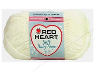 Red Heart Soft Baby Steps Yarn White 5 oz.
