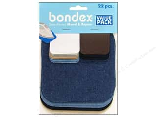 Bondex: Bondex Iron On Patch Value Pack Assorted 22 pc.