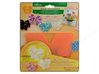 Clover Quick Yo Yo Maker Butterfly Large 1.75x2.25